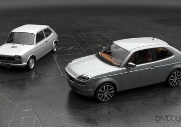 Designer italiano recria o novo Fiat 147, um clássico dos anos 1980