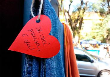 Balão Solidário recebe donativos para a campanha do agasalho em Anápolis