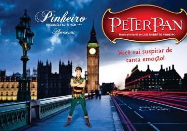 "O espetáculo ""Peter Pan"" chega a capital goiana"