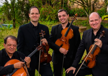Obra de Schumann é apresentada em concerto gratuito para piano e violino