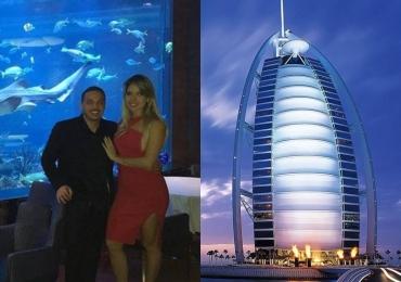 A luxuosa viagem de férias de Wesley Safadão com a esposa em Dubai