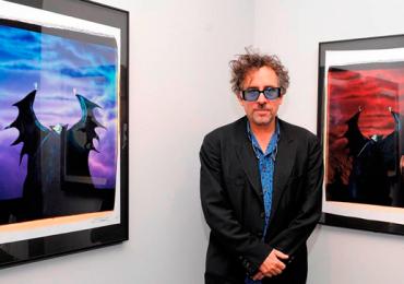Tim Burton vem ao Brasil para encontro com os fãs