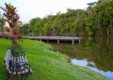 Música, poesia e brincadeiras no Jardim Botânico em Goiânia