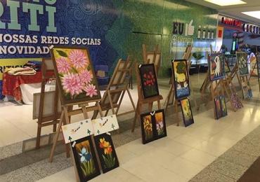 Shopping recebe exposição de arte dos alunos da APAE