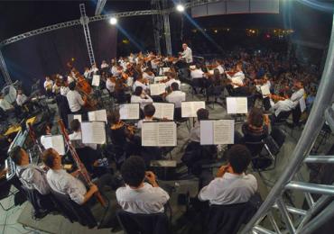Domingo de piquenique no Vaca Brava com a Orquestra Filarmônica de Goiás