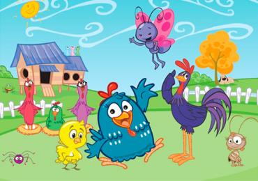 Galinha Pintadinha anima a criançada em programação de shopping de Goiânia