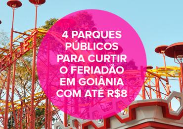 4 parques públicos para curtir o feriadão em Goiânia com até R$8