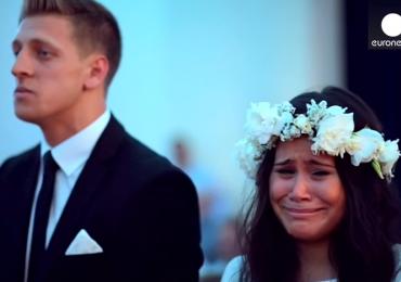 Vídeo de casamento emociona milhões no mundo inteiro. Assista