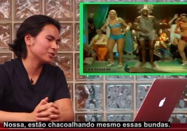 Gringos ouvem música brasileira e a reação é hilária. Assista o Video
