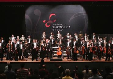 Filarmônica de Goiás é eleita como o terceiro melhor concerto do Brasil
