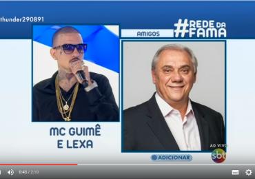 Treta: MC Guimê detona e ameaça Marcelo Rezende no programa da Eliana