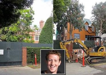 Vizinhos de Mark Zuckerberg compram briga com o dono do Facebook