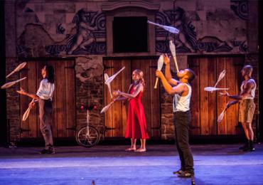 Ex-integrante do Cirque du Soleil traz espetáculo circense a Goiânia