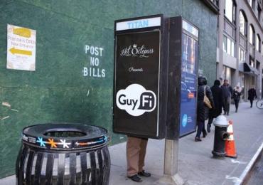 Cabine de masturbação é instalada na quinta avenida em Nova York