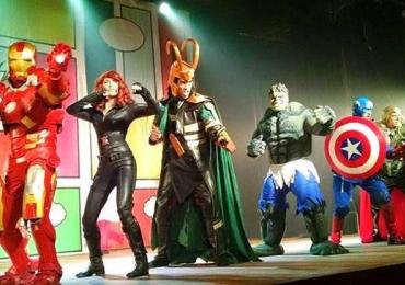 Heróis: O Incrível Musical dos Vingadores chega a Goiânia