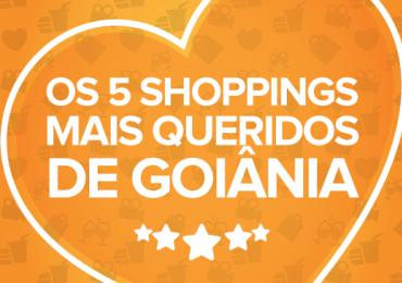 Os 5 shoppings mais queridos de Goiânia