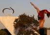 Cartão postal de Brasília recebe mais uma edição de espetáculo gratuito de balé