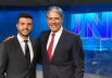 Matheus Ribeiro recebe convite de William Bonner para apresentar Jornal Nacional em 2020