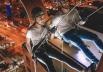 Hotel de Brasília promove noite de rapel na fachada do prédio
