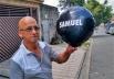 Balão com nome de vítima viaja 20km e vai parar em Suzano