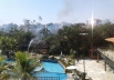 Vídeo: incêndio atinge famoso resort em Caldas Novas
