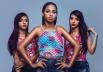 Donas do 'hit do verão', MC Loma e as Gêmeas Lacração fazem show em Goiânia