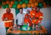 Irmãos de Goiânia fazem festa de aniversário com tema de gari