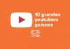 10 youtubers goianos que são verdadeiros campeões de audiência