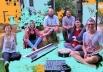 Nave de Maçã faz show de lançamento do primeiro álbum da banda em Goiânia