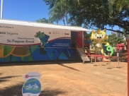 Hoje é o último dia do Museu Itinerante das Olimpíadas em Goiânia