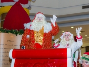 Pátio Brasil Shopping recebe a chegada do Papai Noel em Brasília