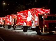 Famosa Caravana de Natal Coca-Cola faz parte da programação de festival em Uberlândia