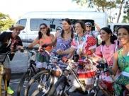Grupo promove passeio ciclístico em clima de festa junina em Goiânia