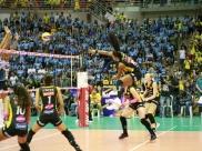 Uberlândia recebe um dos jogos finais da Superliga Feminina de Vôlei