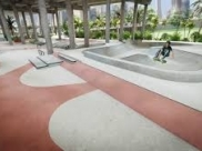 Downtown Miami ganha Skate Park publico para todos as idades e níveis