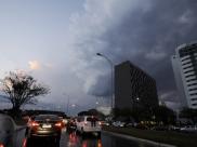 Inmet emite alerta de chuvas intensas para essa segunda-feira no DF