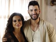 Gusttavo Lima grava clipe em Pirenópolis com Cléo Pires