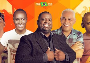 Exaltasamba comemora 30 anos com show único em Brasília