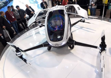 Dubai será a 1ª cidade a adotar táxis voadores autônomos