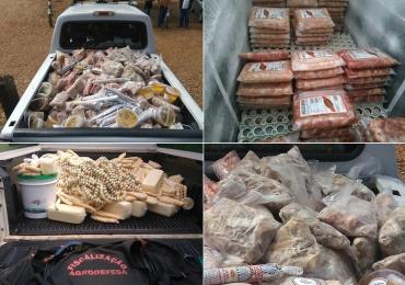 Operação apreende 10,8 toneladas de carne imprópria para consumo em Goiânia