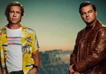 Novo filme de Tarantino ganha pôster com Leonardo DiCaprio e Brad Pitt