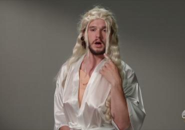 Vídeo: ator que interpreta Jon Snow 'se transforma' em outros personagens e faz sucesso na internet