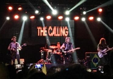 Banda The Calling faz show em Brasília