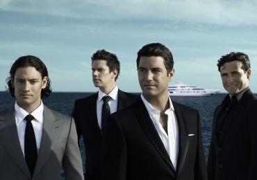 Quarteto internacional Il Divo se apresenta em Brasília