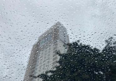 Frente fria chega em Goiânia com chuva nesta sexta-feira