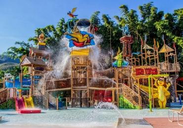 Com águas naturalmente quentes, Hot Park é considerado um dos melhores complexos aquáticos do mundo