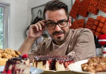 Chef confeiteiro e astro da televisão dá aula em Brasília