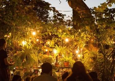 Evento em Brasília proporciona experiência gastronômica em pequeno jardim