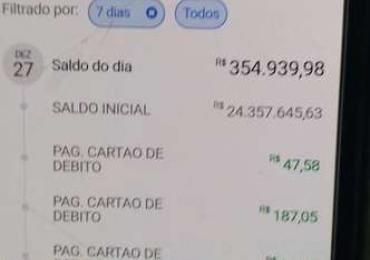 Erro de banco deixa brasiliense milionário por um dia