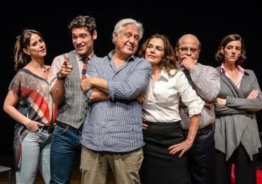 Com Antônio Fagundes, peça 'Baixa Terapia: Uma Comédia no Divã' é apresentada no teatro em Goiânia